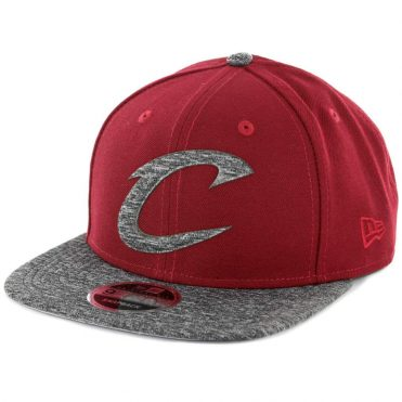 New Era 9Fifty Cleveland Cavaliers Shadow Filled Snapback Hat Burgundy ... c7be7b1c6
