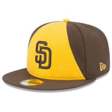 New Era 59Fifty San Diego Padres 2017 ALT 2 Youth Authentic On Field Fitted  Hat ... 628bc94734c9