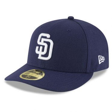 New Era 59Fifty Low Profile San Diego Padres Home 2017 Fitted Hat