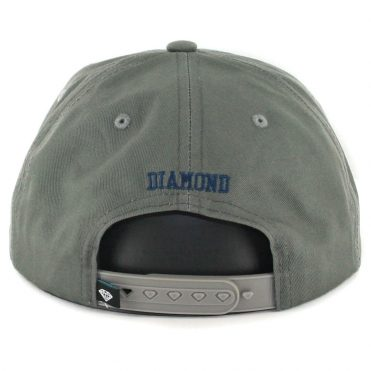 Diamond Supply Co OG Script SU17 Snapback Hat Grey