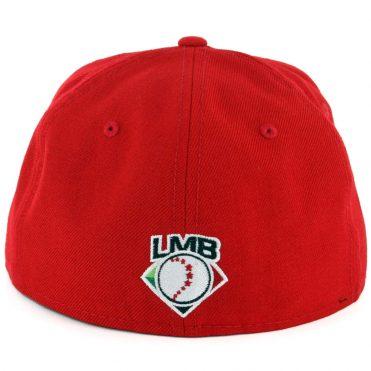 New Era 59Fifty Mexico City Diablos Rojos de Mexico Fitted Hat Scarlet Red (2018)