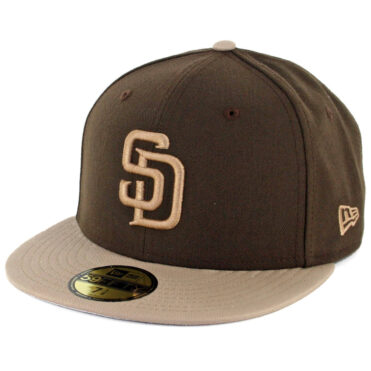New Era 59Fifty CTO San Diego Padres Fitted Hat Brown Khaki – Khaki