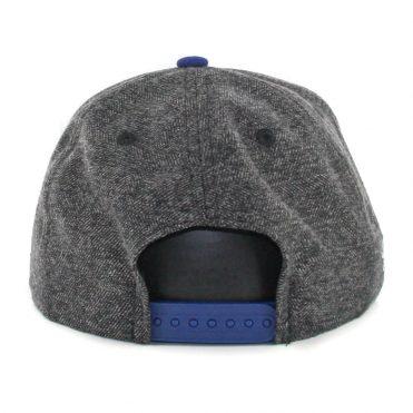 618b95cbcb0 ... New Era 9Fifty Los Angeles Dodgers Tweed Turn Snapback Hat Heather  Graphite Royal Blue