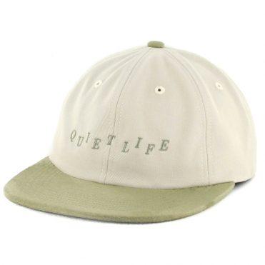 The Quiet Life Stagger Polo Strapback Hat Bone Sage