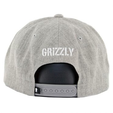 Grizzly North Field Snapback Hat Grey Grizzly North Field Snapback Hat Grey 9f26a7d9bbb1