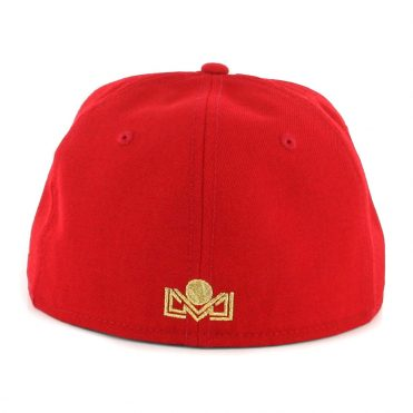 2d63214a6cf ... New Era 59Fifty Mexicali Aguilas Campeones Fitted Hat Scarlet Gold