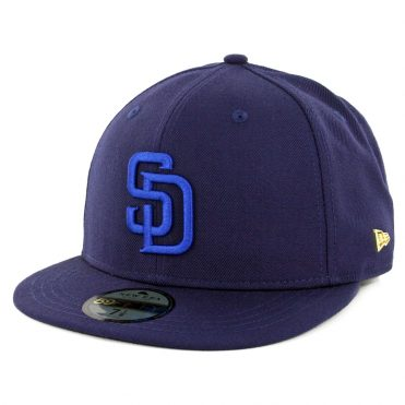 New Era 59Fifty San Diego Padres Essential Fitted Hat Navy