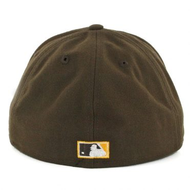 New Era 59Fifty San Diego Padres Vintage Wool Classic Fitted Hat Brown