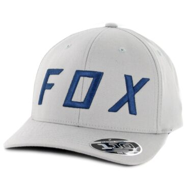Fox Moth 110 Snapback Hat Grey