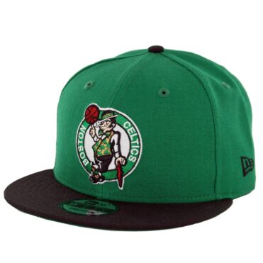 7b8628f564e867 New Era 9Fifty Boston Celtics 2 Tone Snapback Hat Kelly Green Black ...