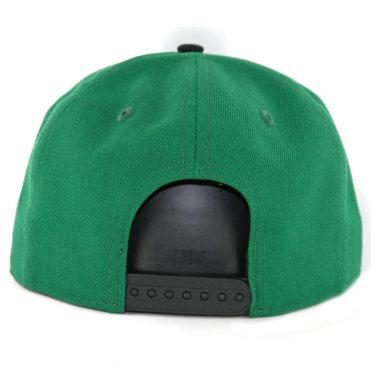 New Era 9Fifty Boston Celtics 2 Tone Snapback Hat Kelly Green Black