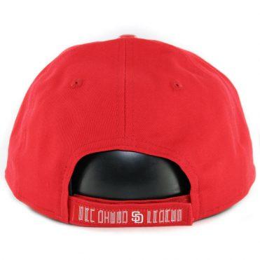 64f474b50d72c ... New Era 9Twenty San Diego Padres Scarlet Hook Strapback Hat Scarlet Red