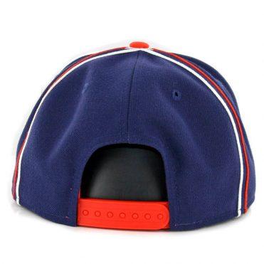 New Era 9Fifty San Diego Padres Y2K Team Soutache Snapback Hat Navy Orange