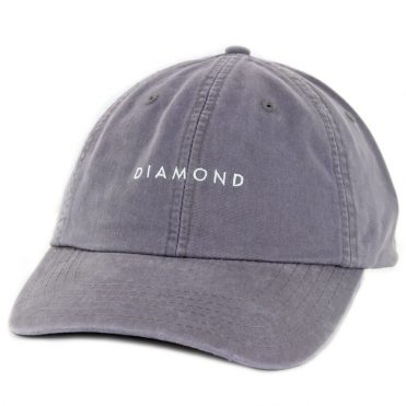 Diamond Supply Co Leeway Sports Strapback Hat Purple