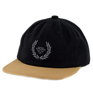 Diamond Supply Co Brilliant Crest Strapback Hat Black