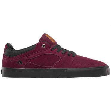 Emerica The HSU Low Vulc Shoe Burgundy