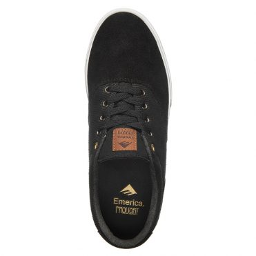 Emerica Provost Slim Vulc Shoe Black White Gum