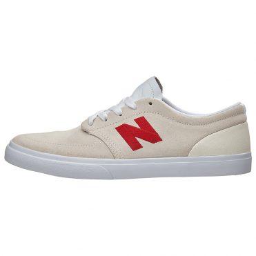 New Balance 345 Shoe White Red