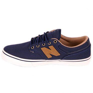 New Balance AM331 Shoe Navy Brown Canvas