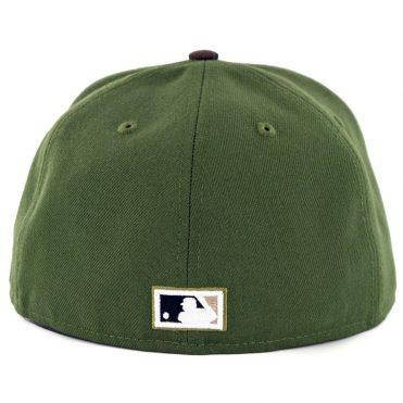 New Era 59Fifty San Diego Padres Tony Gwynn Logo Fitted Rifle Green Woodland Camo