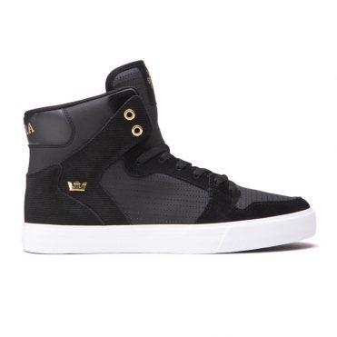 Supra Vaider Shoe Black Gold