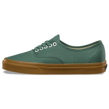 Vans Authentic Shoe Duck Green Gum