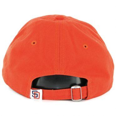 New Era 9Twenty San Diego Padres Secondary Core Classic Strapback Hat Orange