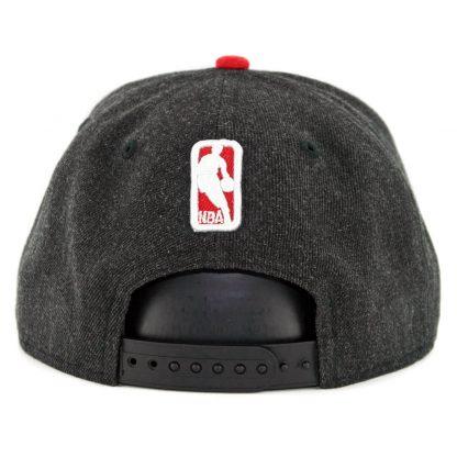 815dffaec7d ... New Era 9Fifty Chicago Bulls Heather Hype Snapback Hat Heather Black
