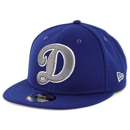 New Era 9Fifty Los Angeles Dodgers Squad Twist Snapback Hat Dark Royal ... 666506f130c3
