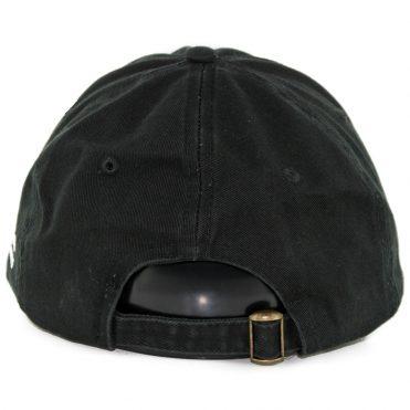... The Hundreds Broadway Dad Strapback Hat Black 2fad562706cd