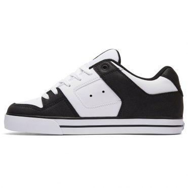 DC Shoes Pure Shoe Black White