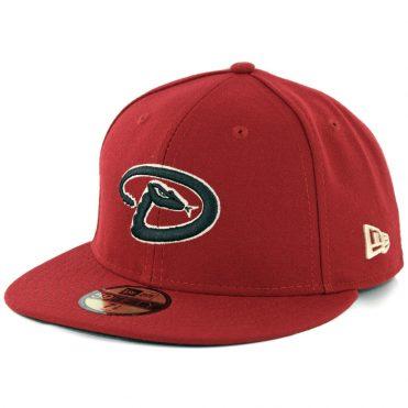 New Era 59Fifty Arizona Diamondbacks 2017 Alternate 4 Authentic On Field Fitted Hat Brick