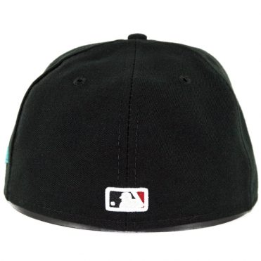 27d237f8e15 ... New Era 59Fifty Arizona Diamondbacks Alternate 1 Authentic On Field  Fitted Hat Black