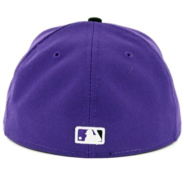 New Era 59Fifty Colorado Rockies Alternate 2 Authentic On Field Fitted Hat Purple