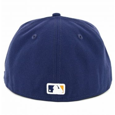 New Era 59Fifty Milwaukee Brewers 2018 Alternate 2 Authentic On Field Fitted Hat Navy