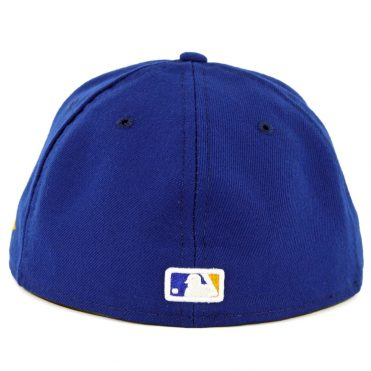 New Era 59Fifty Milwaukee Brewers 2018 Alternate Authentic On Field Fitted Hat Royal Blue
