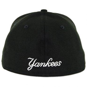 4eadb88de5b New Era 59Fifty New York Yankees Pinned Up League Fitted Hat Black -  Billion Creation Streetwear