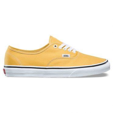 Vans Authentic Shoe Ochre True White