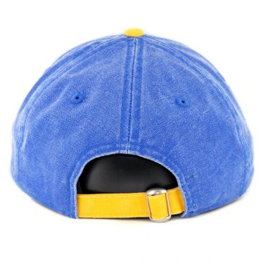 b42ce5ee61f ... New Era 9Twenty Seattle Mariners Rugged Canvas Strapback Hat Royal Blue