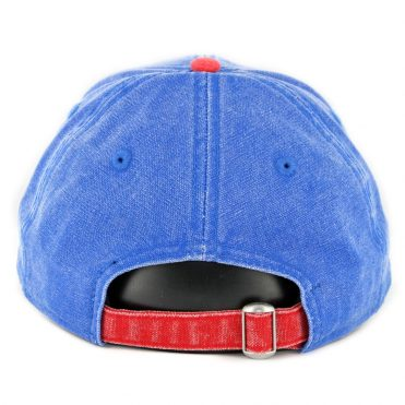 712372e4dba ... New Era 9Twenty Montreal Expos Rugged Canvas Strapback Hat Royal Blue