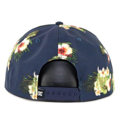 DC Shoes Realstead Snapback Hat Dark Indigo