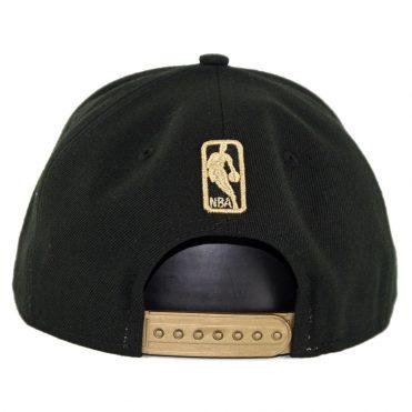 6dfb7f0c7a3 ... New Era 9Fifty Brooklyn Nets Metal Framed Snapback Hat Black