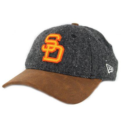 wholesale dealer 89327 15661 New Era 9Twenty San Diego Padres Retro Tweed  80- 84 Strapback Hat Dark ...