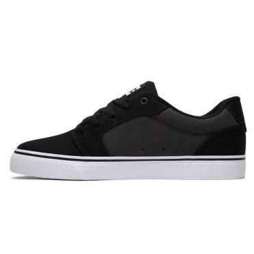 DC Shoes Anvil TX Shoe Black Battleship White
