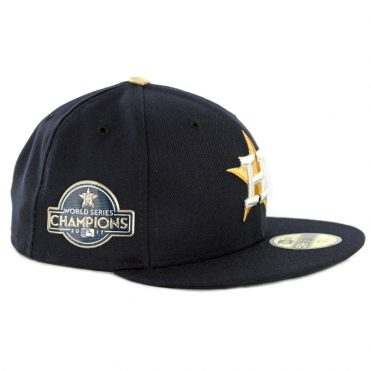 ba493df408681 ... uk new era 59fifty houston astros world series champions 2017 gold  patch fitted hat dark navy