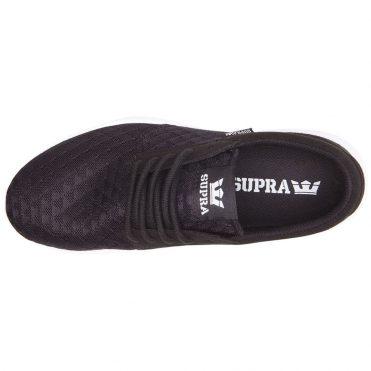 Supra Hammer Run Shoe Black Light Grey White
