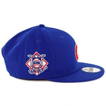 f0882196277 ... New Era 9Fifty Chicago Cubs Baycik Snapback Hat Dark Royal Blue