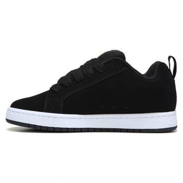 DC Shoes Court Graffik SE Shoe Black Gold