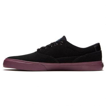 Emerica Provost Slim Vulc x Toy Machine Shoe Black Purple