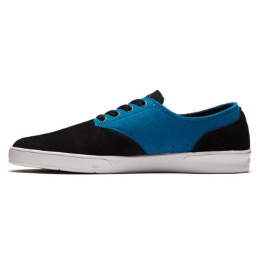 Emerica The Romero Laced x Toy Machine Shoe Black Turquoise